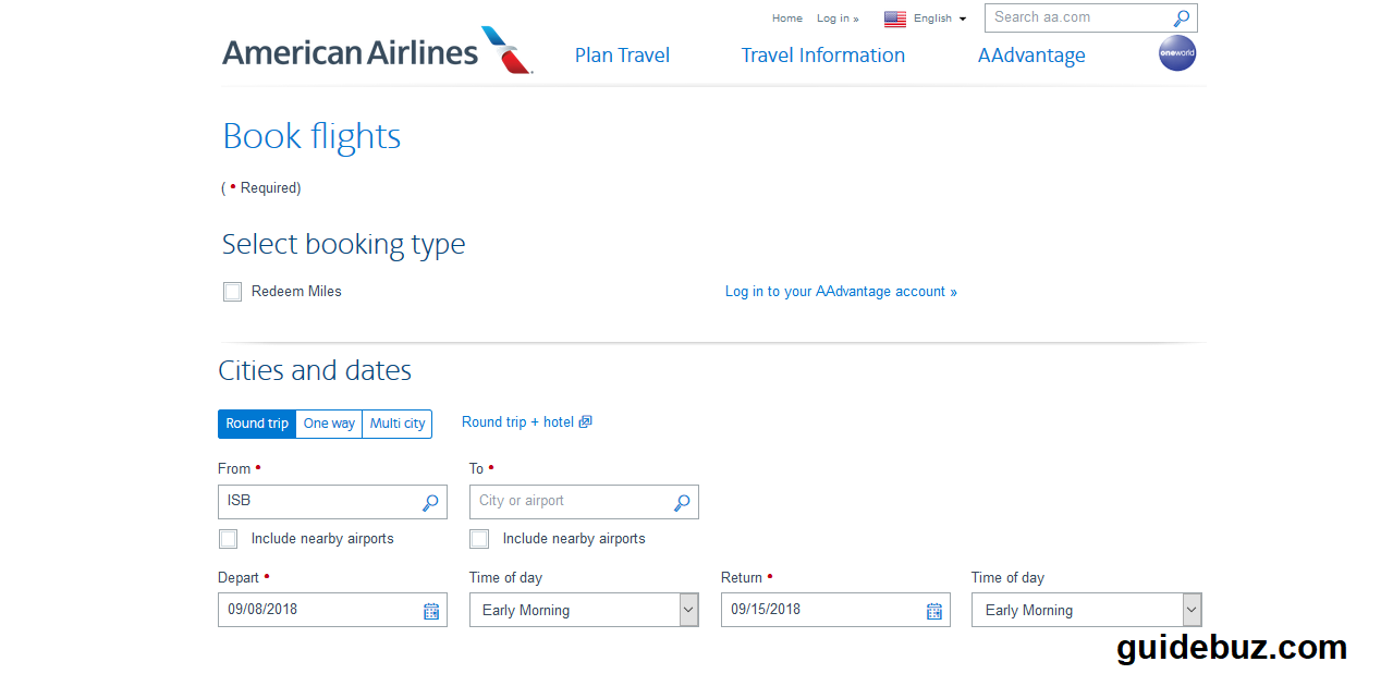 American Airlines Booking 1 877 285 3426 American