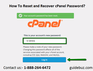 How To Reset cPanel Password