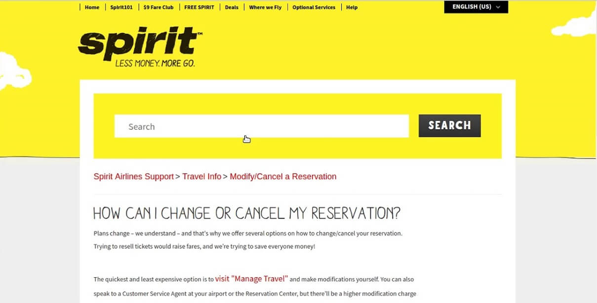 How can I change or cancel my reservations