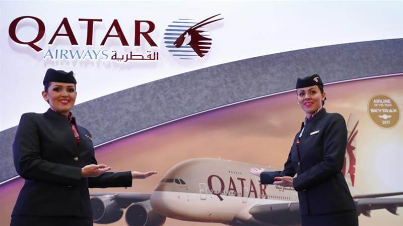 How do you talk to a live person for Qatar Airways