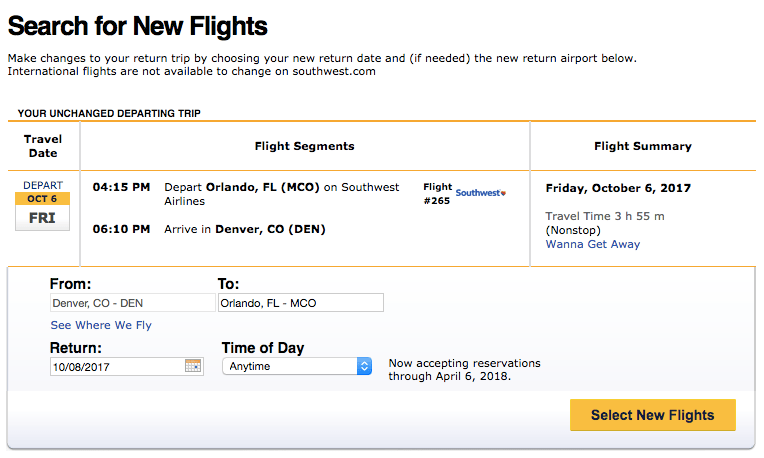 How to Re-book Southwest Flights When You Find a Lower Rate