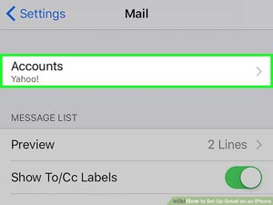 How to Set Up Gmail on an iPhone