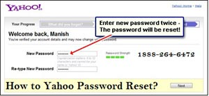 How to Yahoo Password Reset