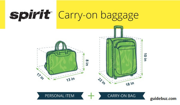 What is Spirit Airlines baggage policy