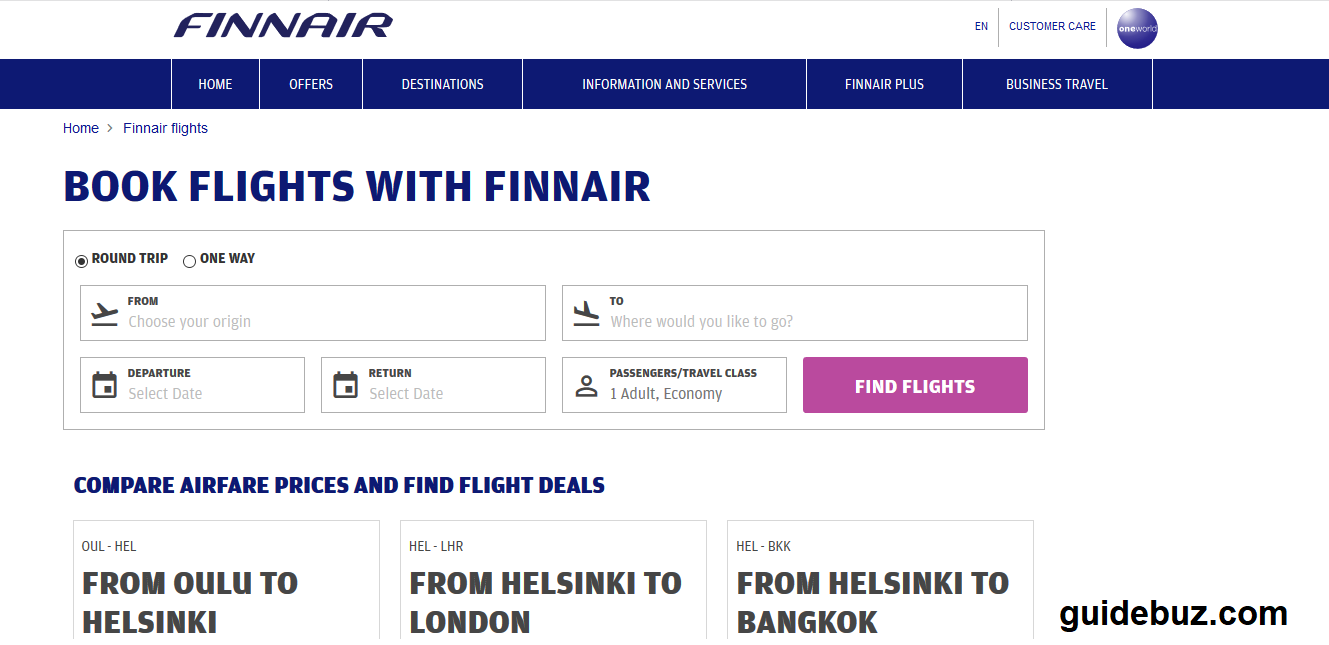 finnair Airlines Reservations Number.png